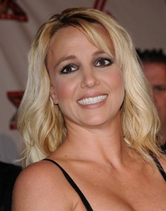 Britney Spears and Unsure Smile