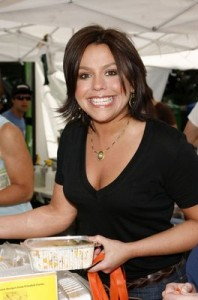 Rachel Ray with Fake Smile