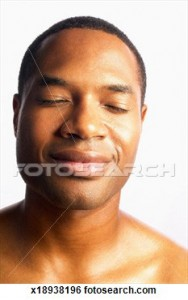 African American Male Smiling