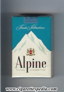 Alpine Cigarettes