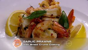 Garlic Prawns from Master Chef Jr.